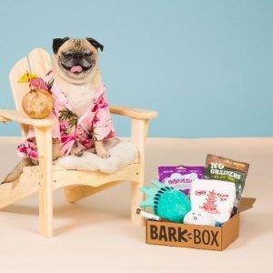 首月礼盒仅$15Barkbox 狗狗神秘订阅礼盒 为你家汪星人准备的专属礼物盒