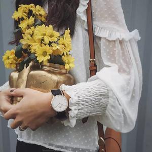 叠加优惠到手¥374手慢无:Daniel Wellington 简约时尚石英腕表