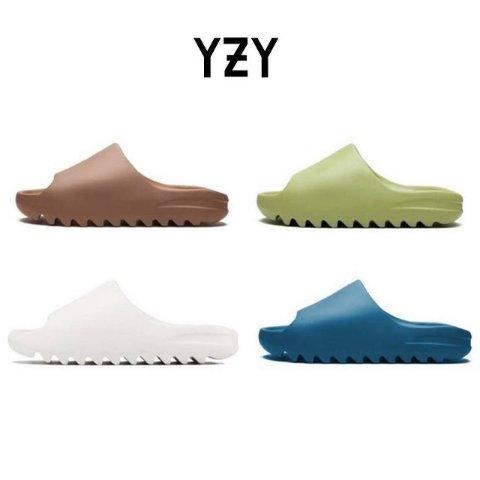 4色可选 预计春夏发售预告:Adidas Yeezy 新款拖鞋曝光 配色更加活泼