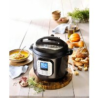 instant pot Duo Nova 黑不锈钢 6-Qt. 7-合-1 电高压锅