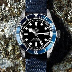 Extra $50 OffDealmoon Exclusive: TUDOR Black Bay Automatic Black Dial Men's Watch