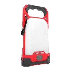 CRAFTSMAN Lantern Flashlight 150-Lumen LED Camping Lantern (Battery Included)