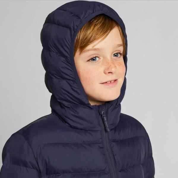 儿童超轻保暖外套