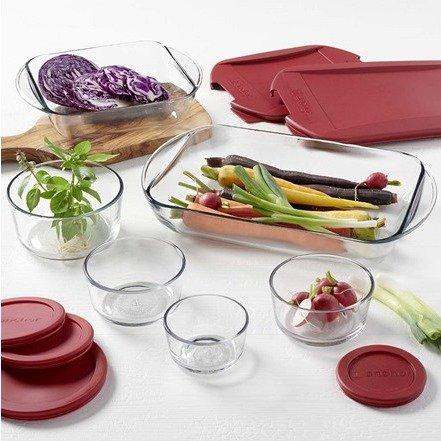 玻璃保鲜碗 12件套