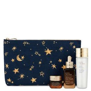 Estee Lauder用码premium25 价值超€185微精华+小棕瓶+眼霜套装