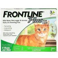Frontline Plus 猫咪体外驱虫剂 3剂