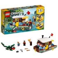 Lego Creator 3合1 河边船屋 31093,2019年新品