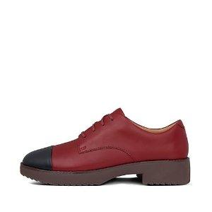 FitFlop柔软鞋垫,防滑鞋底拼色休闲鞋