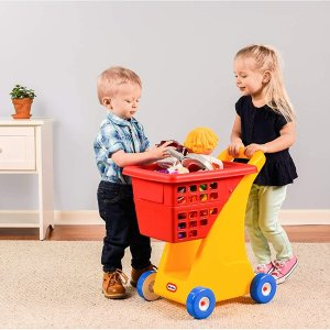 $29.97 (原价$32.49)little tikes 儿童购物车玩具  教宝贝儿一起买买买
