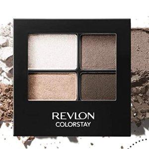 Revlon 4色眼影盘热卖 大地色适合日常