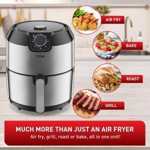 $98.99(原价$129.99)T-fal 4.2L大号空气炸锅 EY201D50 健康烹饪低脂料理