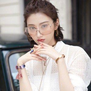 罕见折扣低至7折 封面景甜同款仅£196Dior 多款眼镜墨镜好折 明星们都在戴 因为选对墨镜就能修饰脸型鸭
