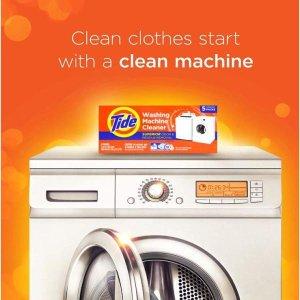 $7.97(原价$8.97)Tide 汰渍 洗衣机清洁剂 3袋装 魔法清洁 秒变新品