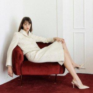 8折起 小香风外套$279上新:LOOKAST 新晋设计师品牌 法式少女风 打造温柔衣橱