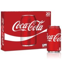Coca-Cola 碳酸饮料, 12 fl oz, 20罐