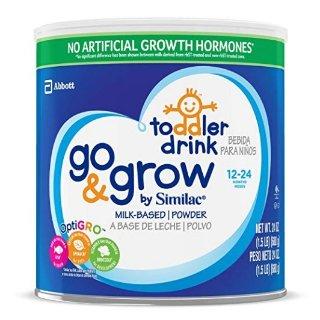 立减$15  平均每罐$15.49Similac Go & Grow 2-24个月婴幼儿配方奶粉, 24盎司 (6罐)