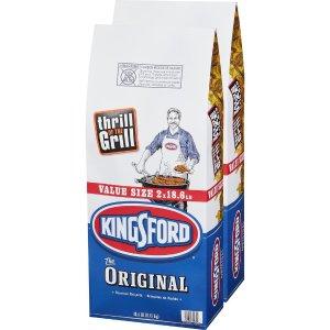 $9.88Kingsford 烧烤用煤炭 18.8磅 2袋