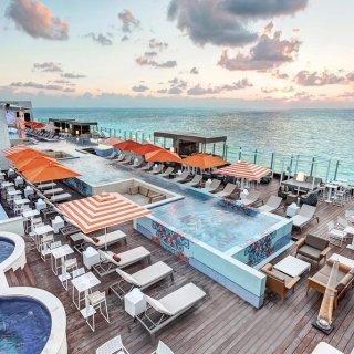 $145起 含小套房+餐饮+娱乐坎昆5星级 Royalton Suites 一价全包度假村
