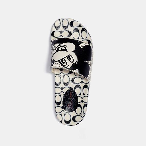 米老鼠 X Keith Haring 拖鞋