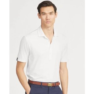 Ralph LaurenClassic Fit Stretch Lisle Polo