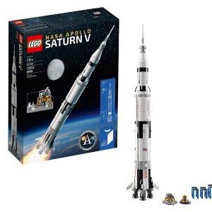 $83.99 降价补货 官网已经退市限今天:LEGO乐高 NASA 阿波罗土星五号 21309,实物高1米