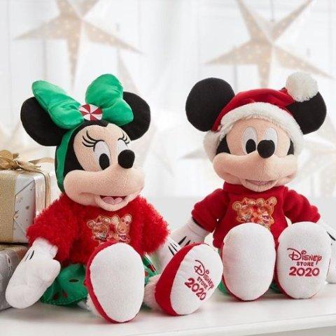 满€15可€12.9换购 原价€30.9法国11.11预热:ShopDisney官网 封面款圣诞米老鼠超低价换购中