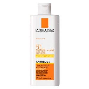 La Roche-Posay超清爽身体防晒乳 SPF50 125ml