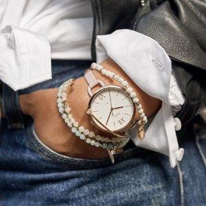 额外8折Fossil 折扣区手表、包包、饰品等优惠