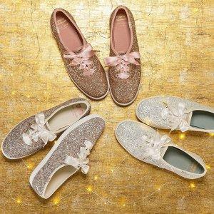 正价款7折Keds x Kate Spade 合作系列美鞋热卖