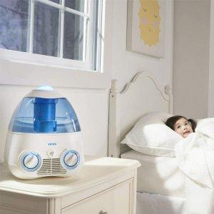 $19(原价$44.99)Vicks Starry Night 加湿器 带幼儿投影 1加仑