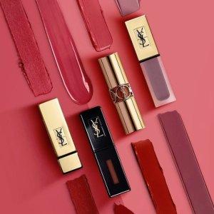 8.9折+变相7.7折+部分州免税11.11独家:Yves Saint Laurent 美妆护肤品热卖