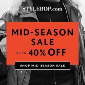 低至6折 $100+收Vetements短袖Stylebop官网 服饰鞋包季末促销 入Marni水桶包好时机 标价即到手价
