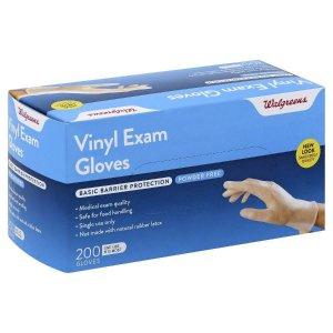 WalgreensTAKE25Vinyl Gloves Fits Most