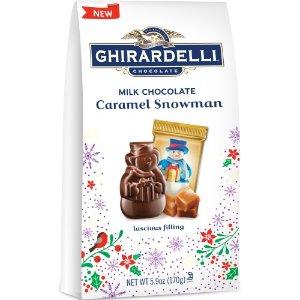 焦糖雪人牛奶巧克力礼包 5.9oz 12包