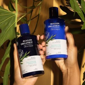 全线8折 $9收薰衣草洗手液Avalon Organics 有机洗护发品牌 $11收防脱B群洗发水