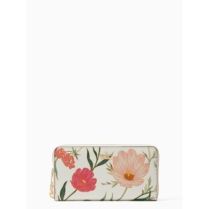 Kate Spade花朵系列长钱包