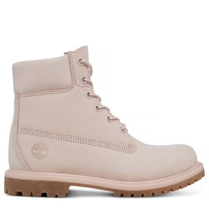 Timberland粉靴