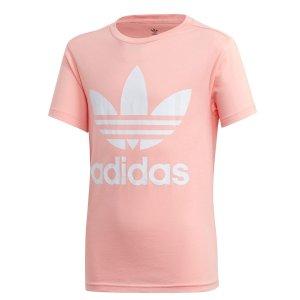 adidas Originals大童粉色短袖