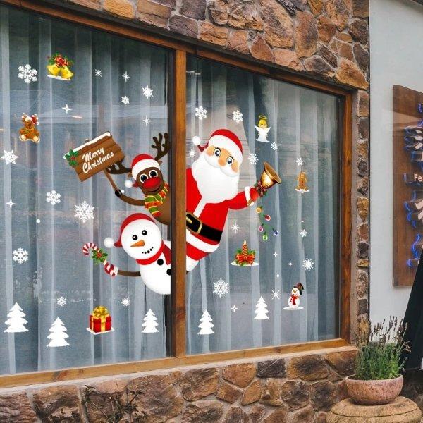 圣诞节墙壁贴纸