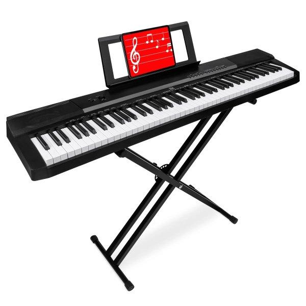 88键数码钢琴套装,带琴架