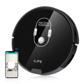$129.99史低价:ILIFE A7 超强吸力扫地机器人 可Wifi连接