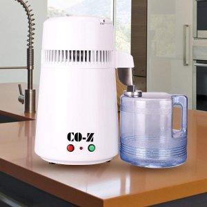 $109.99(原价$139.99)家用蒸馏水机 有效去除细菌 每天可蒸馏多达6加仑