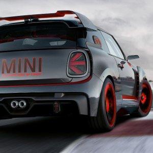 MINI JCW GP即将量产大前铲 碳纤维 小宽体 大尾翼