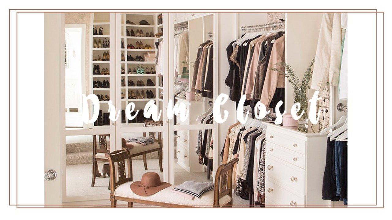 梦想中的衣帽间 | 设计、布局、选材与装修心得!