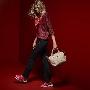 低至6折Longchamp 新款美包热卖 收实用饺子包