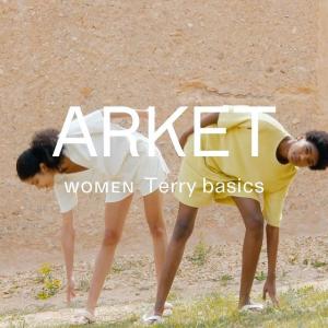 4.2折起 £15收极简T恤Arket 夏季大促开始 北欧极简风上新