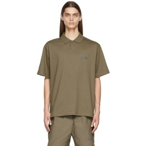 Taupe Jersey Polo衫