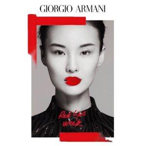 全场无门槛7折Armani美妆 全线大促 红气垫、权力粉底液、红管206全部好价