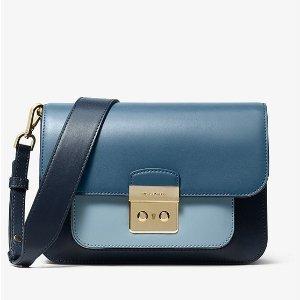 b652427b0eff Michael KorsSloan Editor Color-Block Leather Shoulder Bag. $223.50 $298.00. Michael  Kors Sloan ...