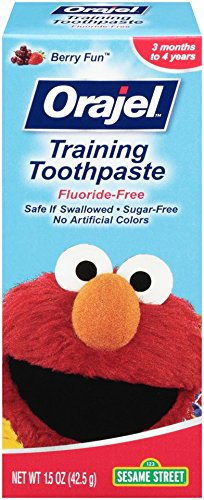 $2.88Orajel Elmo Fluoride-Free Training Toothpaste, 1.5 Oz @ Amazon.com
